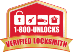 Tampa Bay Locksmith, 1800unlocks, Verified Locksmith, 1800unlocks locksmith