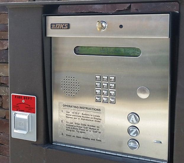 Door Buzzer Systems installed